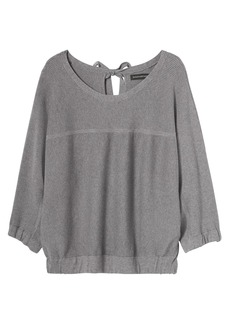 Banana Republic LIFE IN MOTION Performance Silk-Cotton Dolman Top