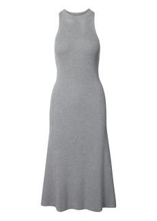 Banana Republic LIFE IN MOTION Performance Silk-Cotton Sweater Dress