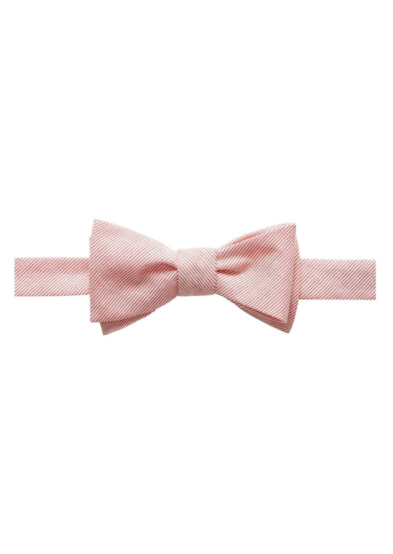 Banana Republic Light Stripe Bow Tie
