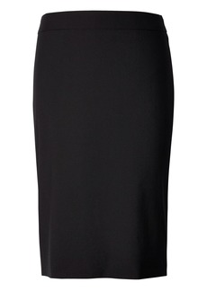 Banana Republic Lightweight Wool High-Waisted Pencil Skirt