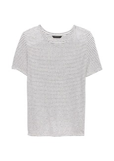 Banana Republic Linen Blend Cross-Back T-Shirt