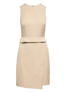 Banana Republic Linen-Blend Sheath Dress