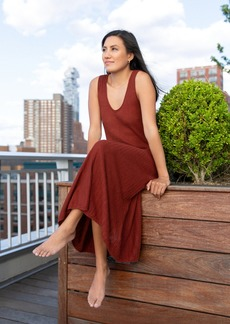 Banana Republic Linen-Blend Sweater Dress