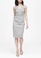 Banana Republic Linen-Cotton Sheath Dress