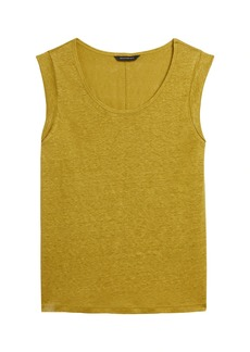 Banana Republic Linen Roll-Cuff Tank