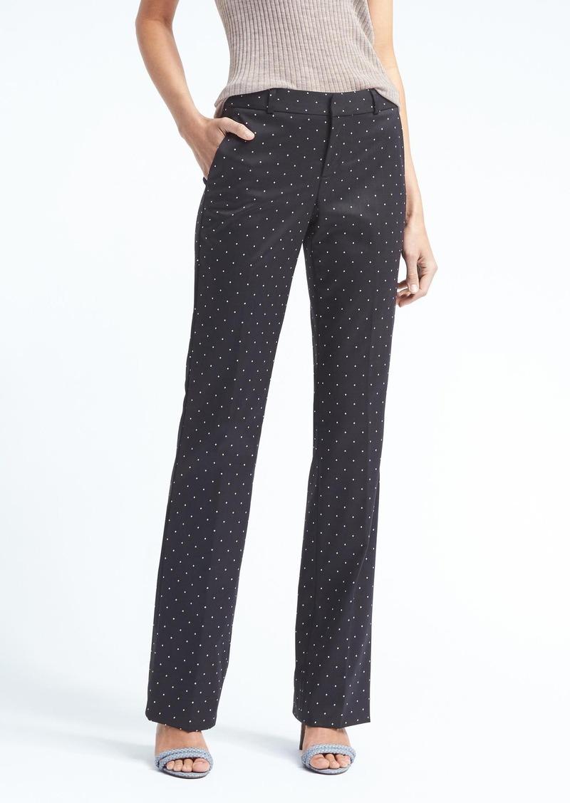 Banana Republic Logan Trouser Fit Dot Pant Casual Pants