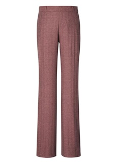Banana Republic Logan Trouser-Fit Herringbone Luxe Brushed Twill Pant