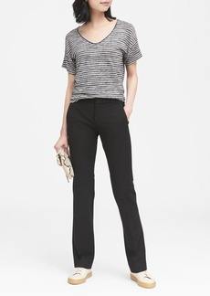 Banana Republic Logan Trouser-Fit Washable Bi-Stretch Pant