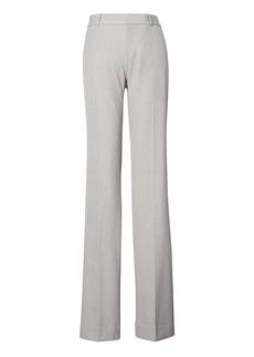 Banana Republic Logan Trouser-Fit Machine-Washable Birdseye Pant
