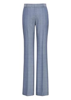 Banana Republic Logan Trouser-Fit Windowpane Tweed Pant