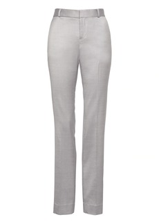 Banana Republic Logan Trouser-Fit Wool-Blend Pant