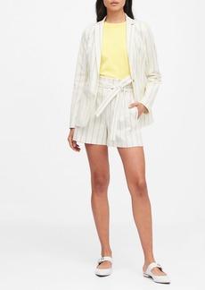 Banana Republic Long & Lean-Fit Stripe Blazer