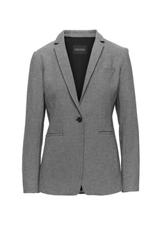 Banana Republic Long and Lean-Fit Houndstooth Blazer