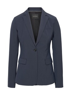 Banana Republic Long and Lean-Fit Washable Italian Wool-Blend Blazer