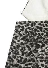Banana Republic Long and Lean-Fit Metallic Leopard Blazer