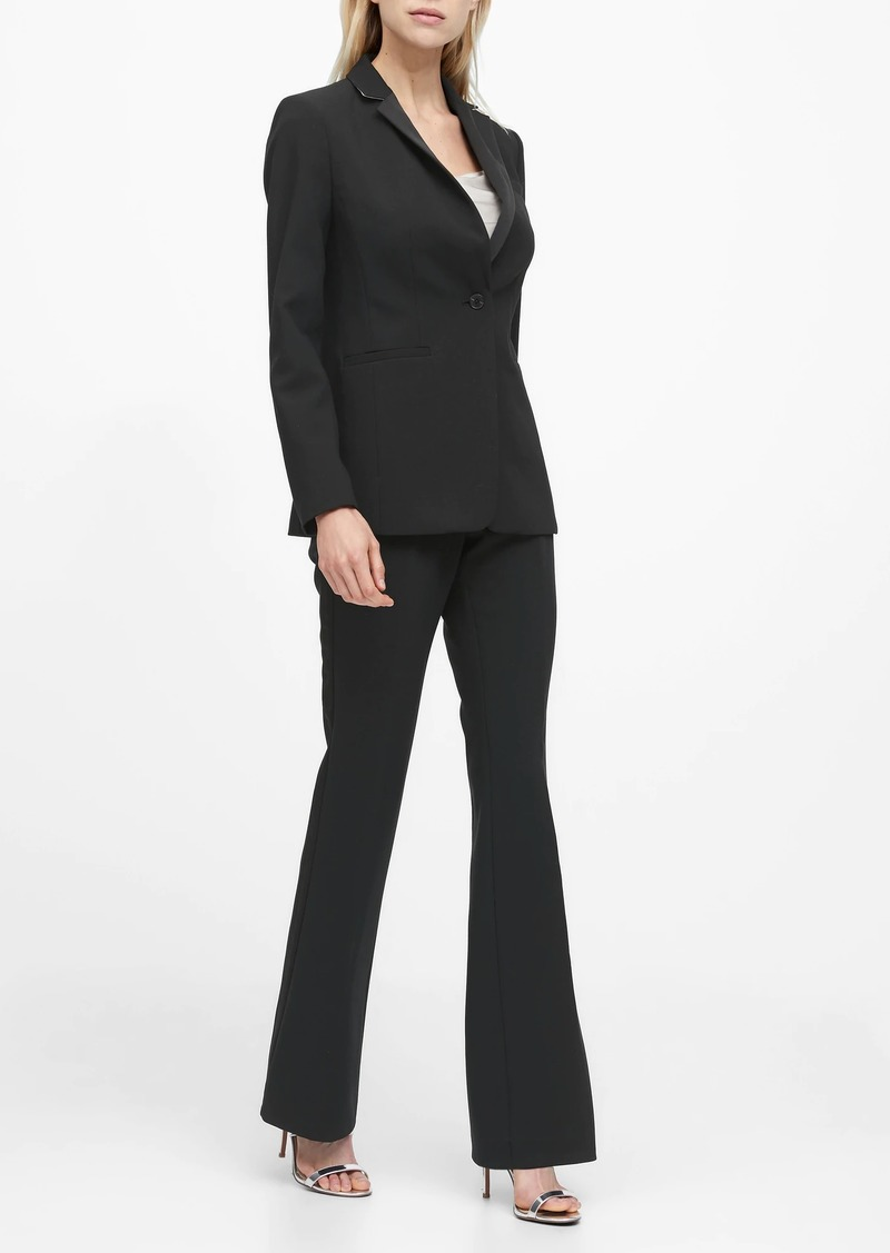 Banana Republic Long and Lean-Fit Tuxedo Blazer