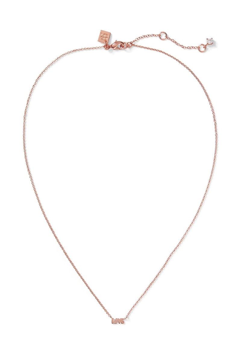 Banana Republic Love Pendant Necklace