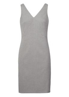 Banana Republic Luxe Brushed Twill Paneled Sheath Dress