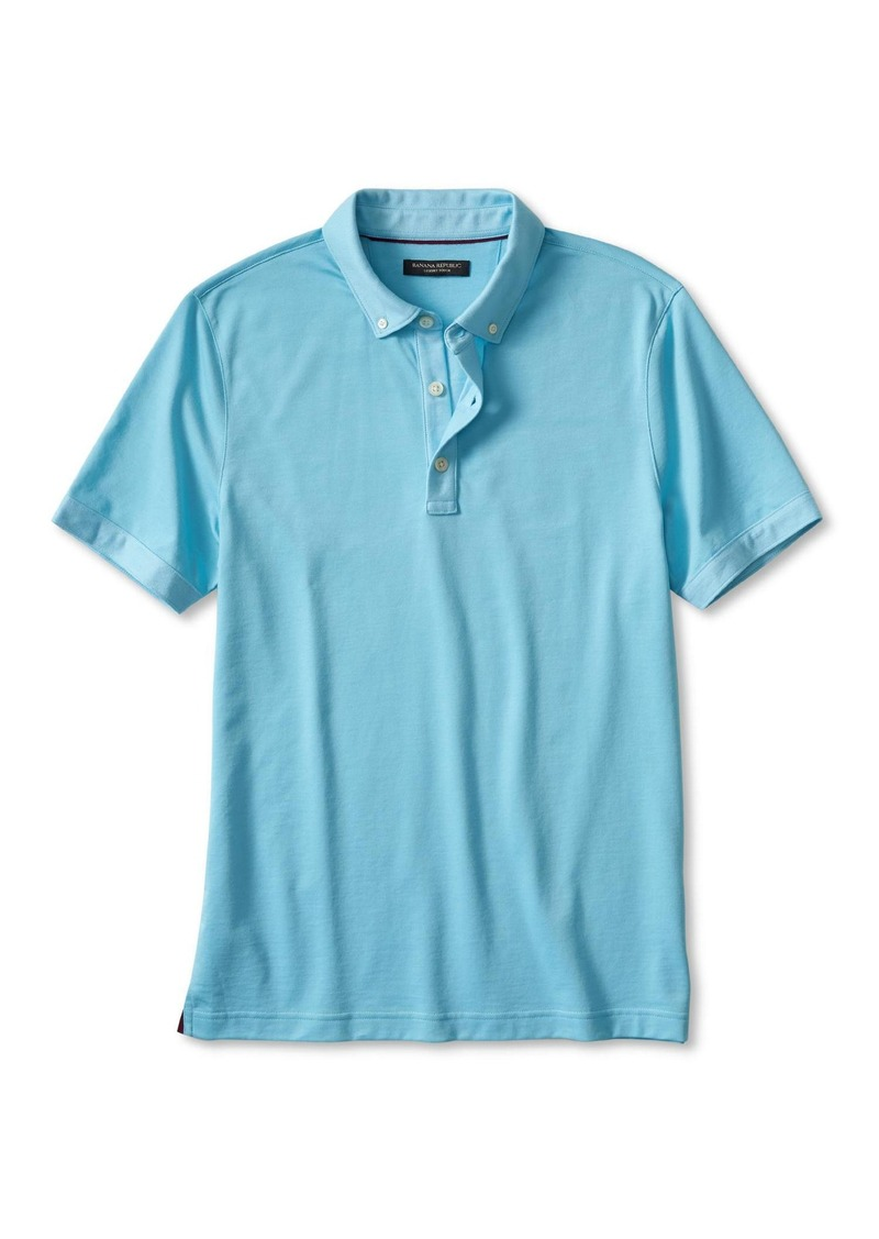 Banana Republic Luxe-Touch Polo