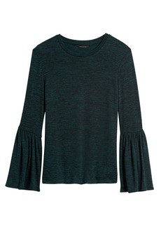 Banana Republic Luxespun Bell-Sleeve T-Shirt