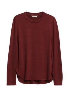 Banana Republic Luxespun Long-Sleeve T-Shirt