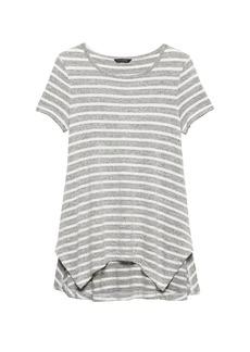 Banana Republic Luxespun Swing Tunic T-Shirt