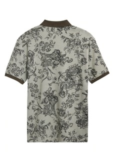 Banana Republic Luxury-Touch Floral Polo