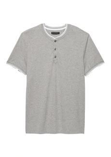 Banana Republic Luxury-Touch Henley T-Shirt