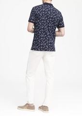 Banana Republic Luxury-Touch Palm Print Polo