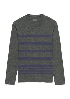 Banana Republic Soft Wash Long-Sleeve Stripe T-Shirt