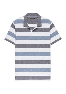 Banana Republic Luxury-Touch Stripe Polo