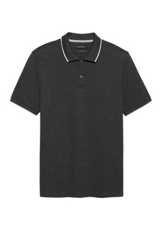 Banana Republic Luxury-Touch Tipped Polo