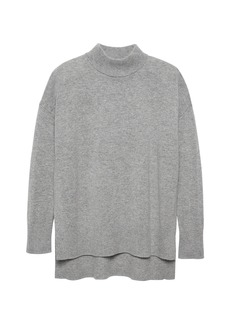 Banana Republic Machine-Washable Wool-Cashmere Sweater Tunic