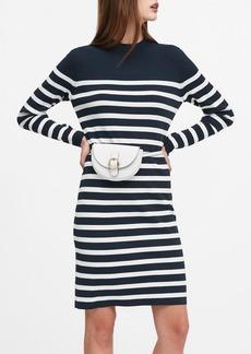 Banana Republic Mariner Stripe Sweater Dress