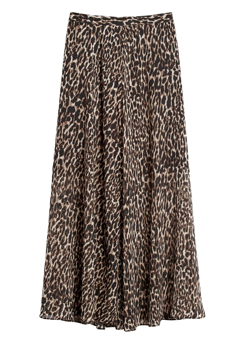 Banana Republic Maxi Skirt with Side Slits