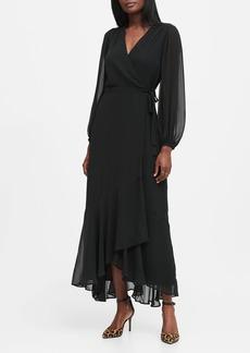 Banana Republic Maxi Wrap Dress