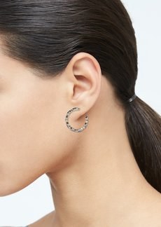 Banana Republic Medium Bling Hoop Earrings