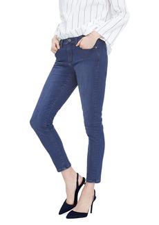 Medium Wash Skinny Ankle Jean