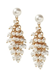 Banana Republic Mesh Pearl Statement Earring