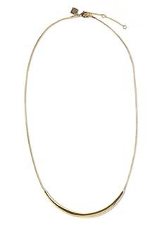 Banana Republic Metal Bar Necklace