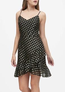 Banana Republic Metallic Dot Mini Dress