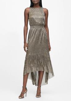Banana Republic Metallic High-Low Dress