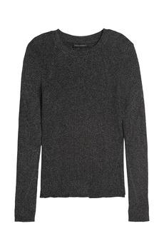 Banana Republic Metallic Sweater Top