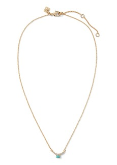 Banana Republic Micro Fine Pavé Pendant Necklace