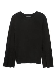 Banana Republic Flare-Sleeve Sweater Top