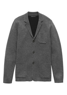 Banana Republic Milano-Stitch Sweater Blazer