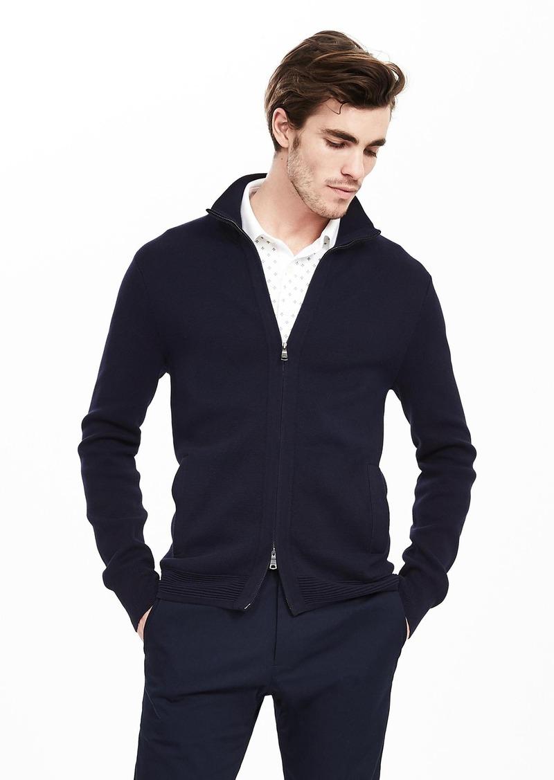 Banana Republic Milano Zip Sweater