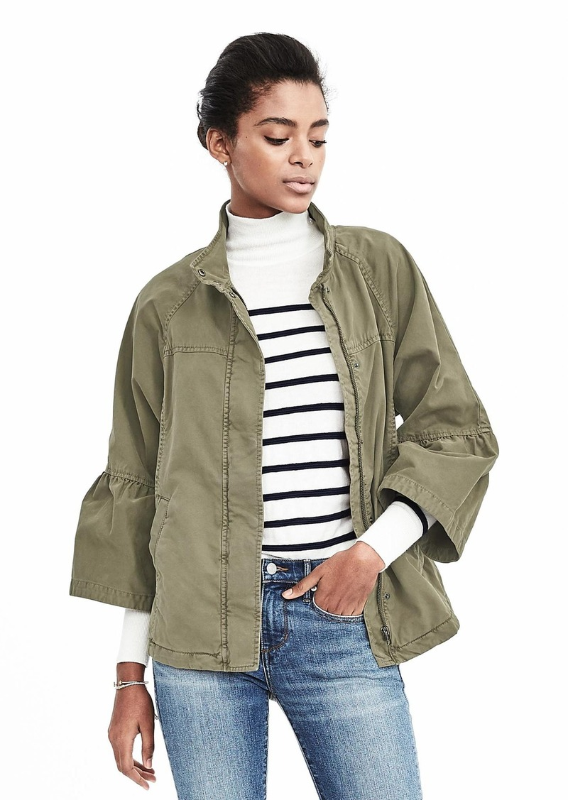 Banana Republic Military Full  Sleeve Jacket