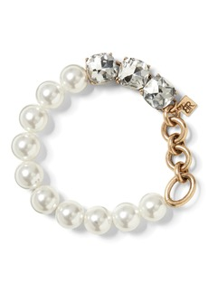 Banana Republic Mixed Jewel and Pearl Bracelet