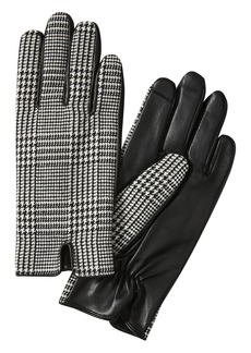 Banana Republic Mixed Media Notched Glove